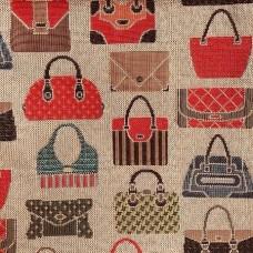Ткань Galleria Arben BAGS VISON