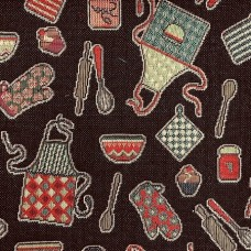 Ткань Galleria Arben CUINA BLACK